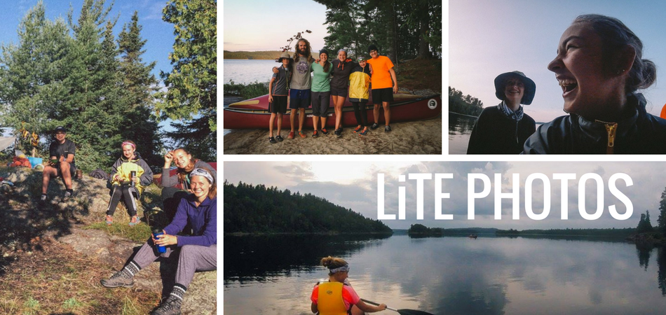 collage of photos for LiTE camp