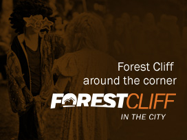 info about forest cliff in the city